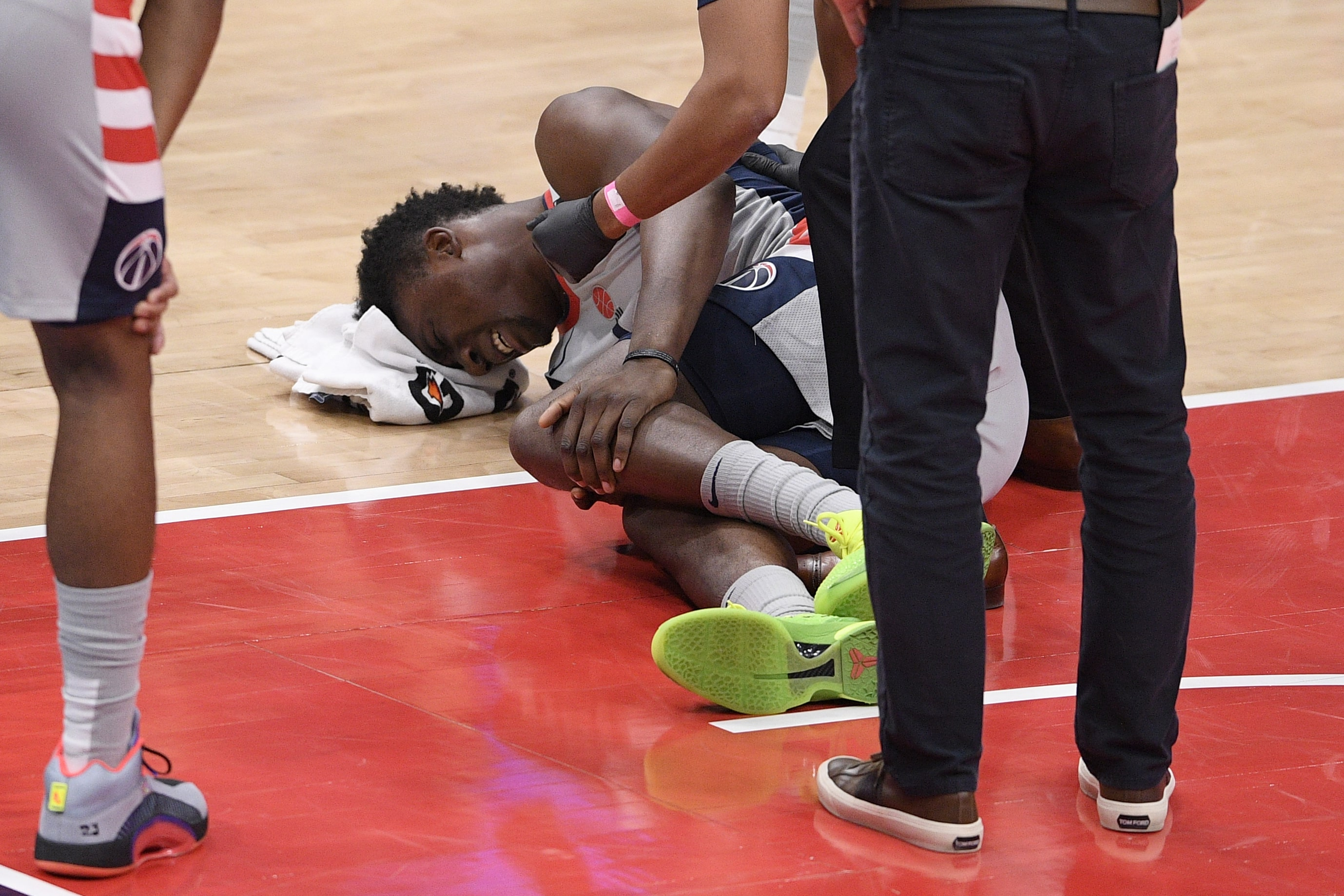 """""""Wizards"""" pamatsastāva centra spēlētājam Braientam krustenisko saišu plīsuma dēļ sezona beigusies"""