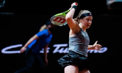 """Ostapenko Romas """"WTA 1000"""" sērijas turnīrā iznīcina pasaules 18. raketi"""