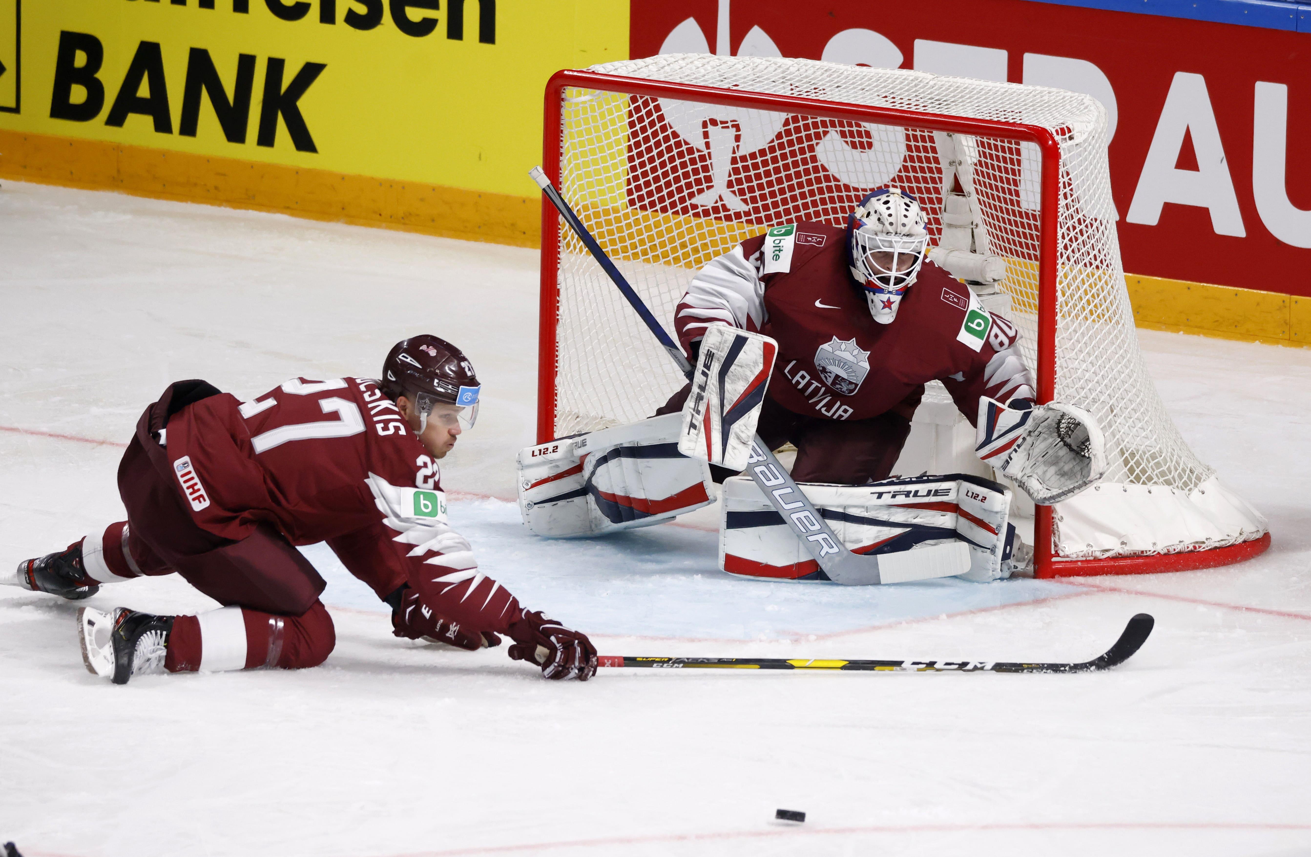 Latvija - komanda, kurai visgrūtāk iemest? Statistika pēc trim čempionāta spēlēm