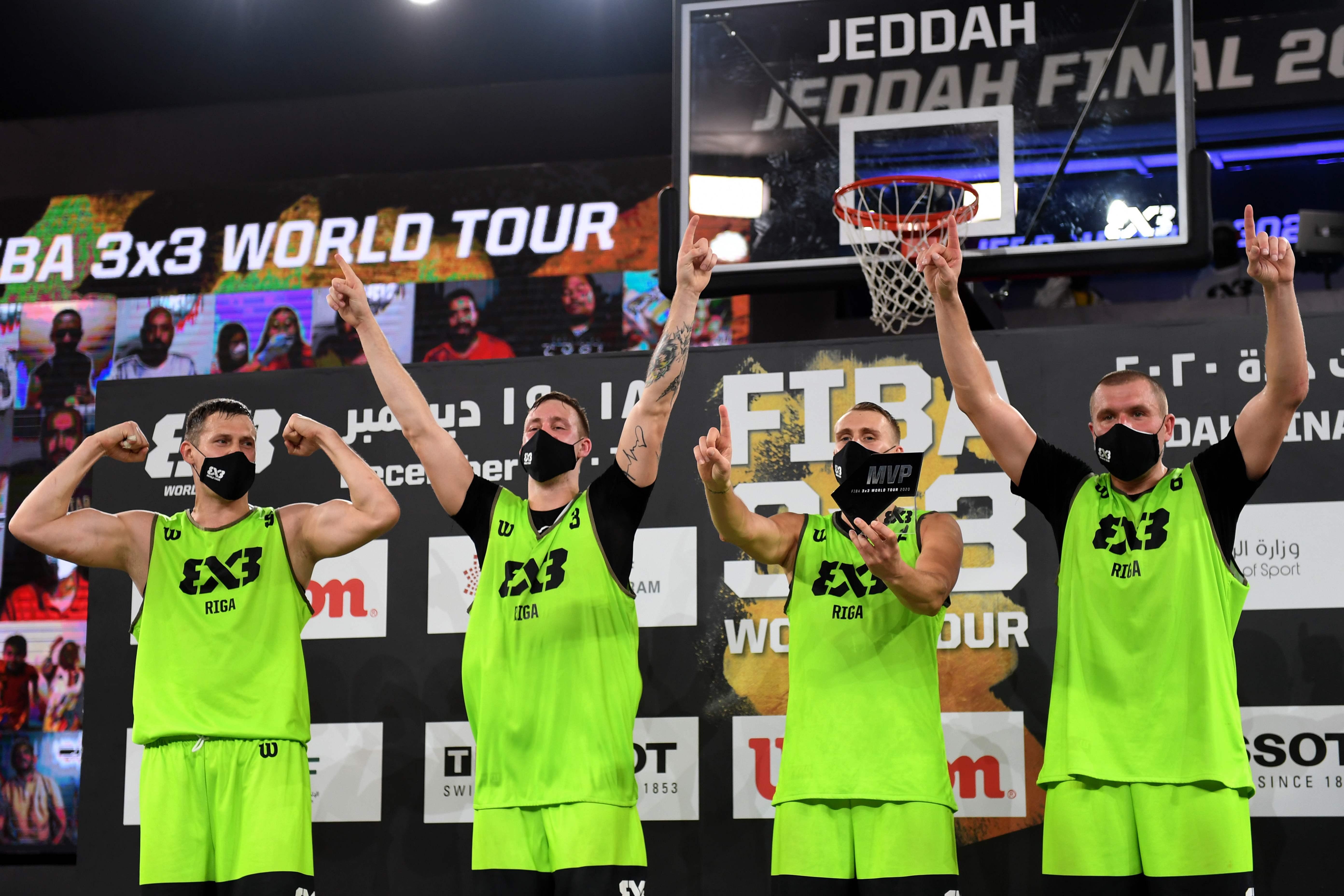 Latvijas 3x3 basketbola izlase izcīna ceļazīmi uz Tokijas olimpiskajām spēlēm