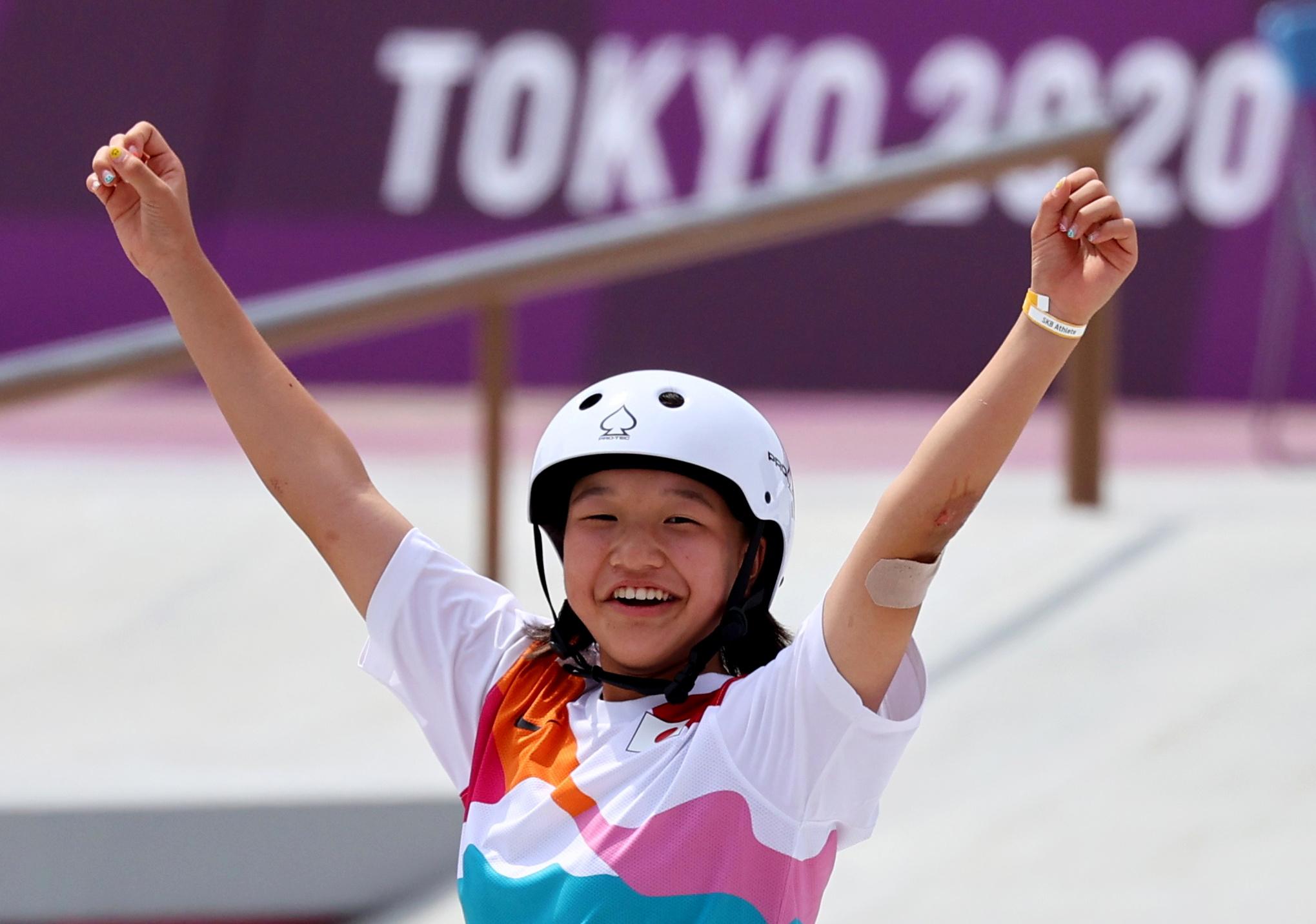 Skeitbordā sieviešu konkurencē - jaunākais goda pjedestāls olimpisko spēļu vēsturē