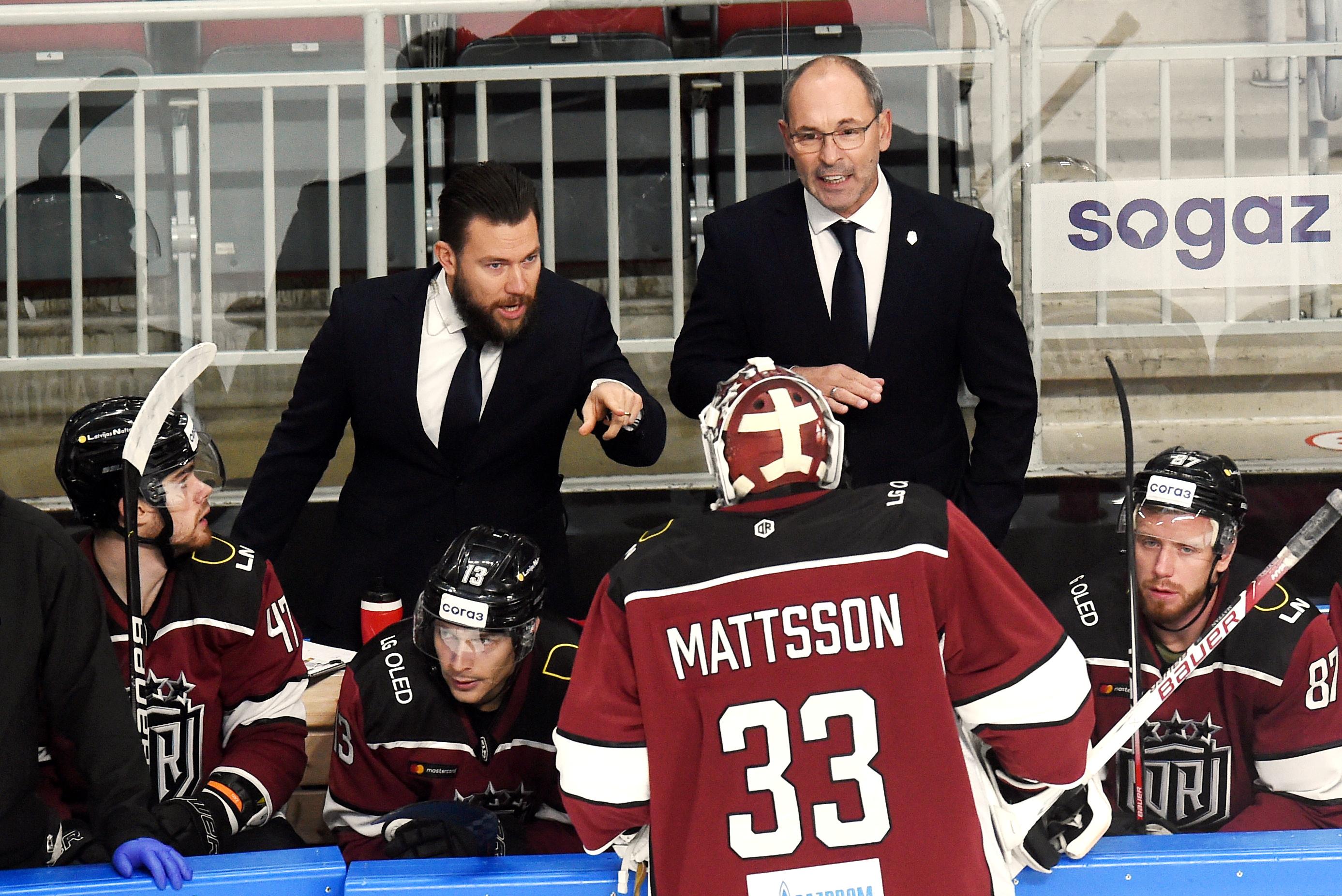 """Tikai labas ziņas - """"Dinamo"""" divas uzvaras pēc kārtas; Matsons - astotais labākais KHL"""